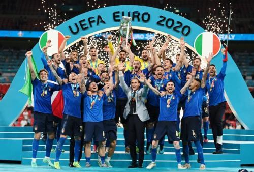 Timnas Italia juara Piala Eropa 2020