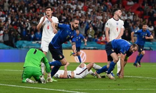 Italia vs Inggris di final Piala Eropa 2020 (Foto: Reuters)