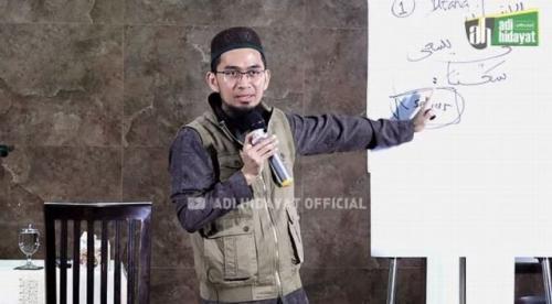 Ilustrasi Ustadz Adi Hidayat menjelaskan arti Masya Allah. (Foto: YouTube Adi Hidayat Official)