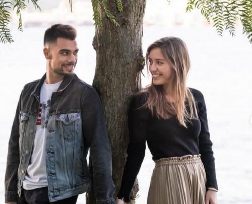 Miguel Oliveira dan Andreia Pimenta