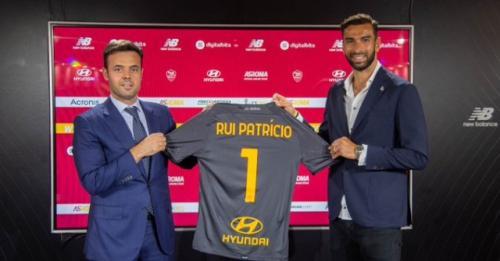 Rui Patricio (Foto: AS Roma)