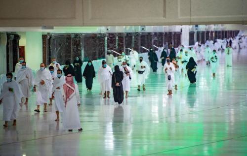Jamaah haji di Tanah Suci. (Foto: Kementerian Haji dan Umrah Arab Saudi)