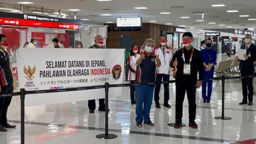 Atlet Indonesia Disambut