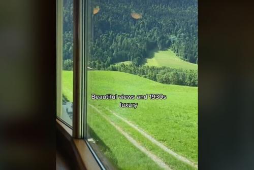 Kereta Api Era 30an di Swiss