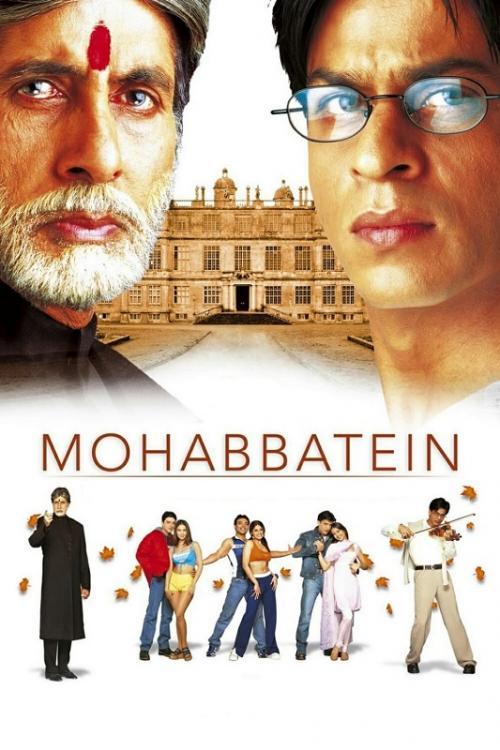 Mohabbatein, film yang membawa Amitabh Bachchan keluar dari lilitan utang.
