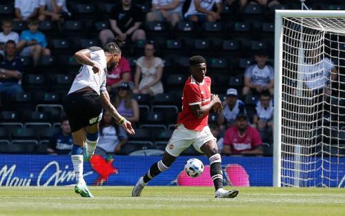 Man United vs Derby County (Foto: Reuters)