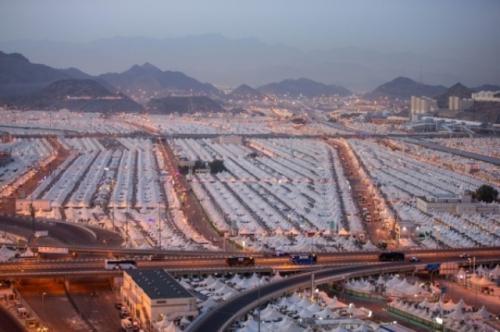 Tenda jamaah haji di Mina, Makkah. (Foto: Saudigazette)