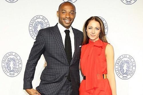 Thierry Henry dan Andrea Rajacic