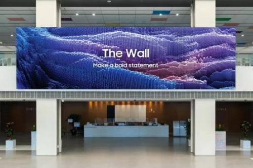 Samsung Luncurkan Layar microLED The Wall dengan Peningkatan Fitur