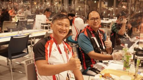 Tim bulu tangkis Indonesia. Foto: KOI