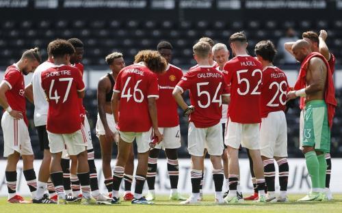 Man United menang 2-1 atas Derby County (Foto: Reuters)