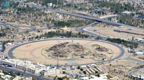 Jamaah haji wukuf di Arafah. (Foto: SPA/Arabnews)