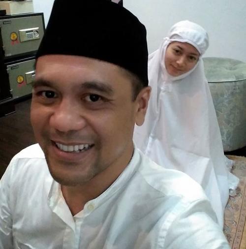 Chico Hakim dan istri