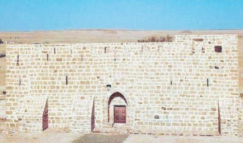 Benteng Dhat Al-Hajj di Tabuk tempat berkumpulnya jamaah haji. (Foto: SPA/Arabnews)