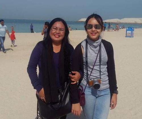 Amanda Manopo dan ibu