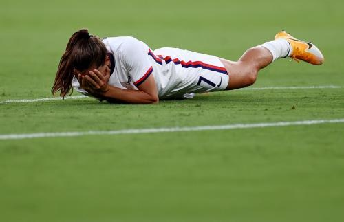 Timnas sepakbola putri AS vs Swedia