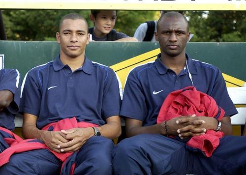 Gilberto Silva dan Patrick Vieira (Foot: Istimewa)