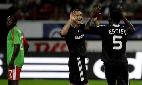 Frank Lampard dan Michael Essien (Foto: Twitter/@sportingindex)