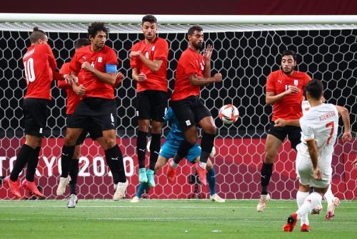 Timnas Mesir U-23 vs Timnas Spanyol U-23 (Foto: Reuters)