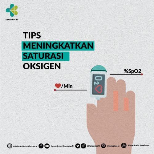 Tips Tingkatkan Saturasi Oksigen