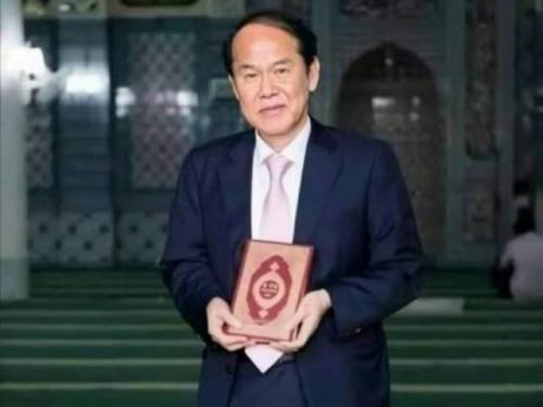 Dr Hamid Choi Yong-Kil Hafizhahullah tujuh tahun terjemahkan Alquran ke bahasa Korea. (Foto: Instagram @qolbu_muslim)