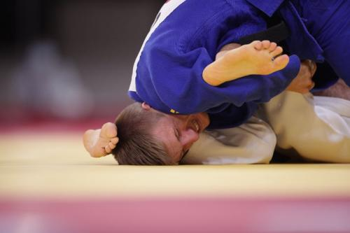 Ilustrasi Judo (Foto: Reuters)