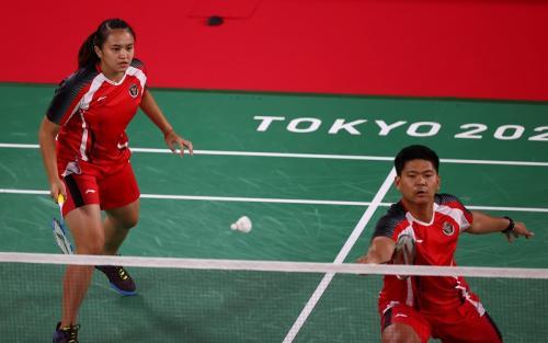 Praveen Jordan/Melati Daeva Oktavianti di Olimpaide Tokyo 2020