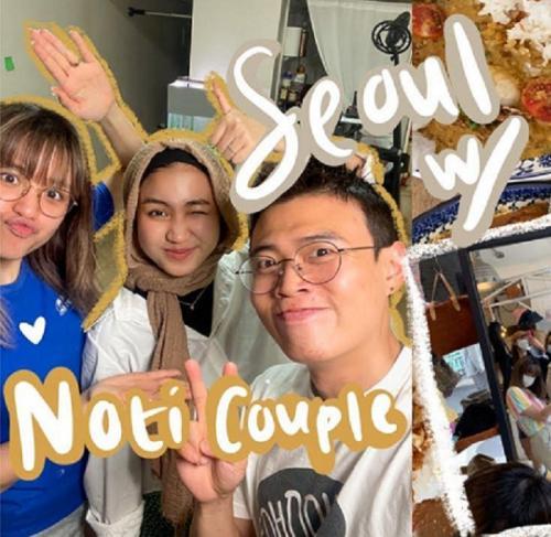 mencicipi masakan Indonesia di Korsel