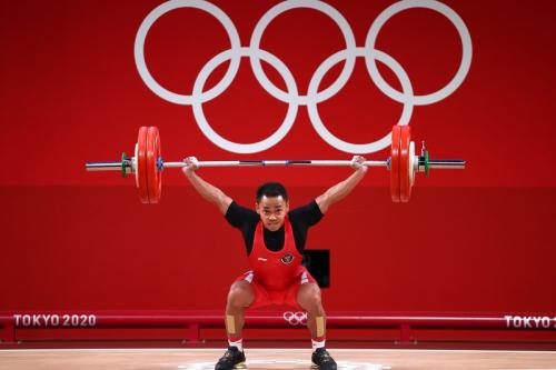 Eko Yuli Irawan (Foto: Reuters)