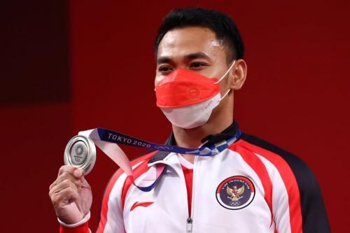 Eko Yuli Irawan di Olimpiade Tokyo 2020