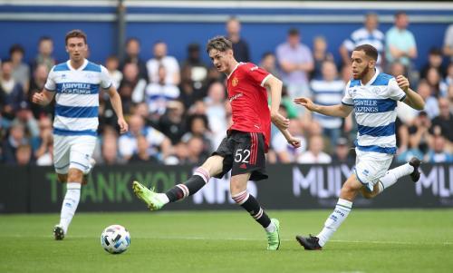 QPR vs Man United (Foto: Reuters)