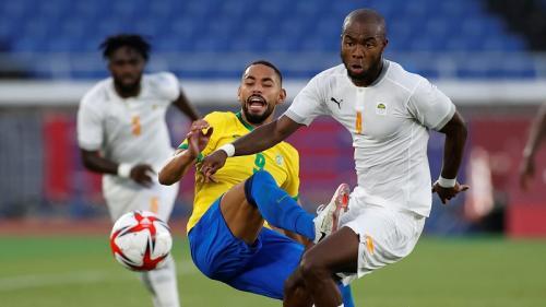 Timnas Brasil U-23 vs Timnas Pantai Gading U-23