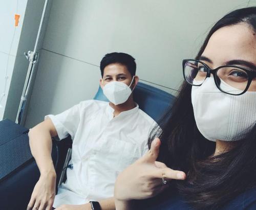 Tasya Kamila Sempat Takut Sang Suami Tak Bisa Sembuh dari Kanker Getah Bening