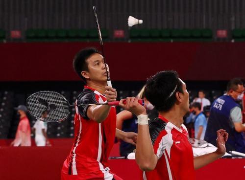Mohammad Ahsan/Hendra Setiawan di Olimpiade Tokyo 2020