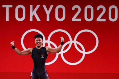 Rahmat Erwin Abdullah di Olimpiade Tokyo 2020