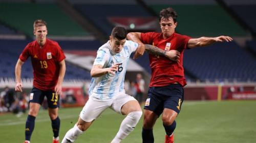 Momen Spanyol vs Argentina di Olimpiade Tokyo 2020