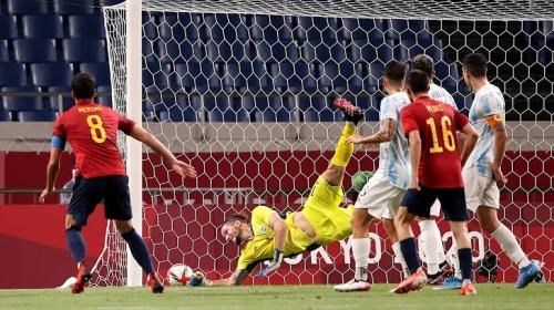 Spanyol U-23 vs Argentina U-23 (Foto: Reuters)