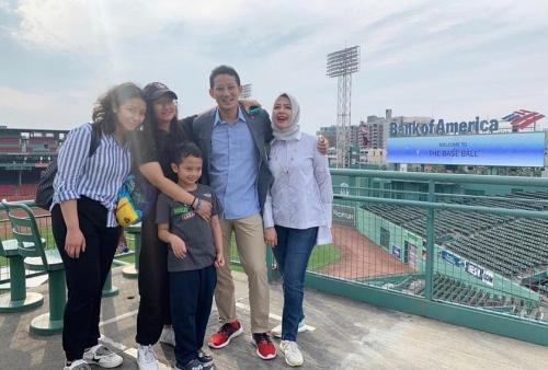 Sandiaga dan Nur Asia Uno