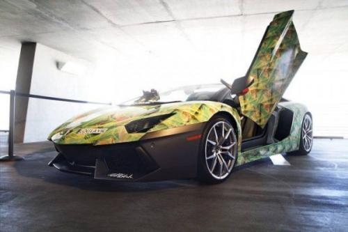 Mobil Lamborghini Aventador LeBron James (Foto: La Lou Vie)