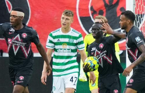 Glasgow Celtic kalah (Foto: Twitter/@CelticFC)