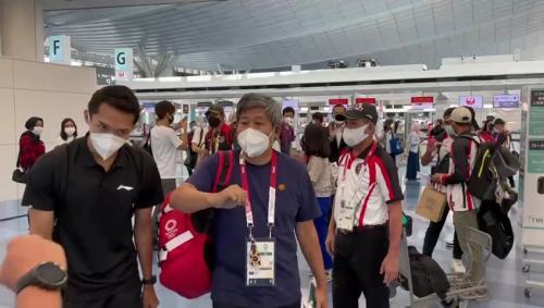 Kontingen tim Indonesia kloter kedua (Foto: KBRI Tokyo)
