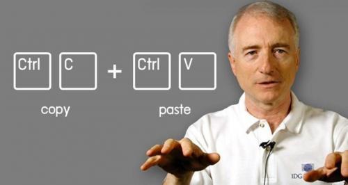 Larry Tesler penemu copy cut paste pada komputer. (Foto: 24x7businessnews.com)