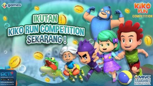 Kiko Run Competition. (Foto: MNC Games)