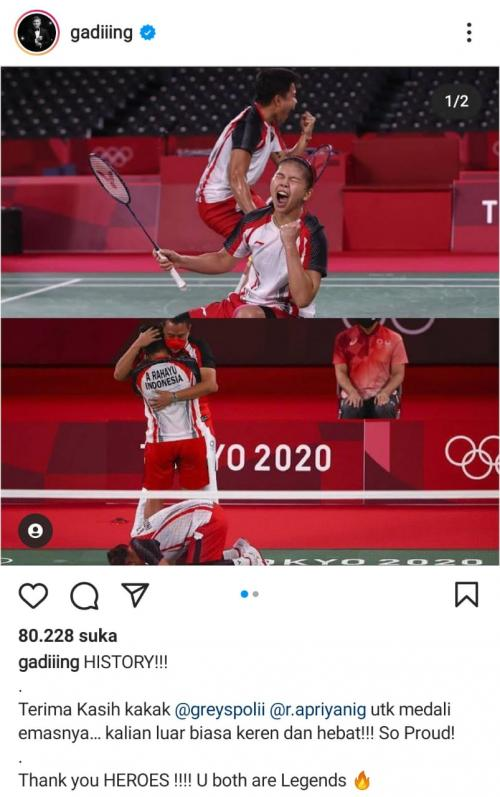 Instagram gading Marten