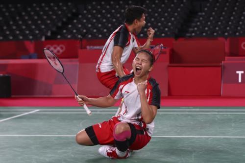 menang di Olimpiade Tokyo 2020