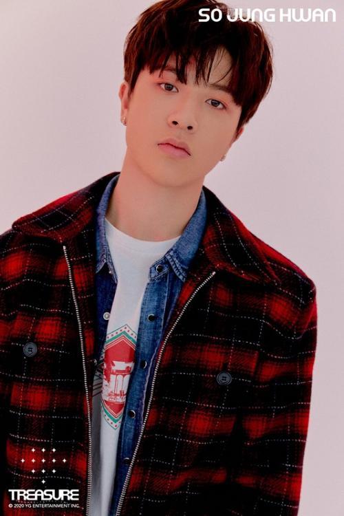 So Jung Hwan TREASURE sembuh dari COVID-19. (Foto: YG Entertainment)