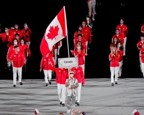 Kontingen Kanada di Olimpiade Tokyo 2020. (Foto: The Star)