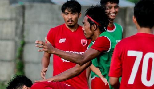 PSM Makassar latihan (Foto: Twitter/@PSM_Makassar)
