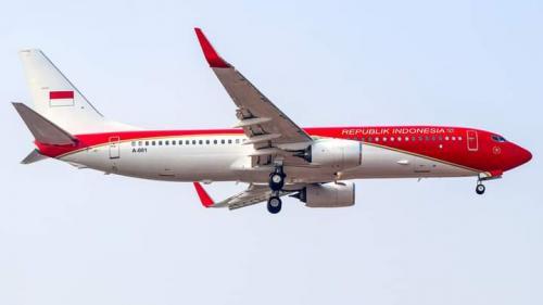 Pesawat presiden Foto: ist
