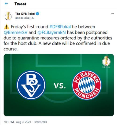 Pernyataan DFB Pokal